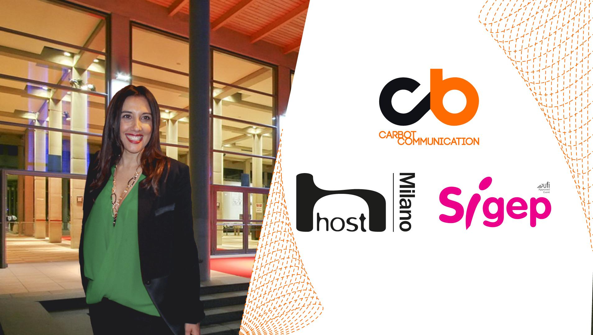 """Dopo Host, Carbot Communication approda al Sigep di Rimini. Carla Botta: """"Le Fiere sono uno straordinario strumento di comunicazione"""""""